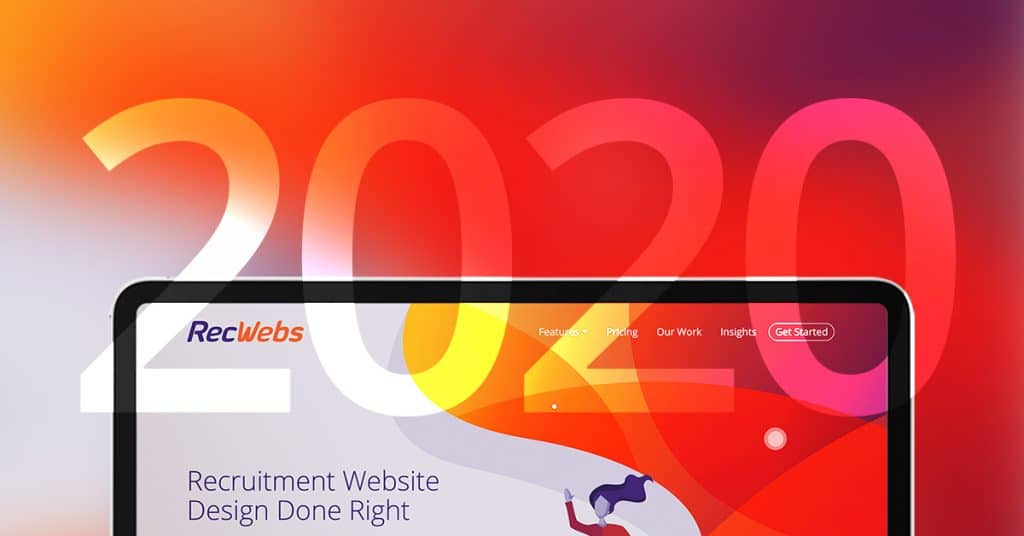 Recruitment website design trends to watch for in 2020