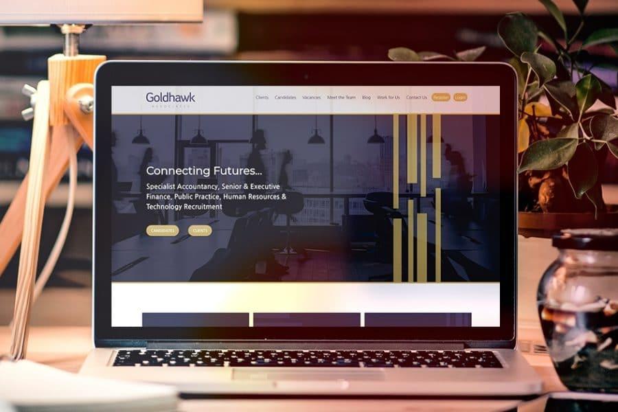 Goldhawh Associates Recruitment Website