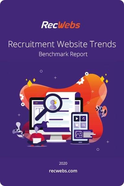 Website Recruitment Trends Report Cover